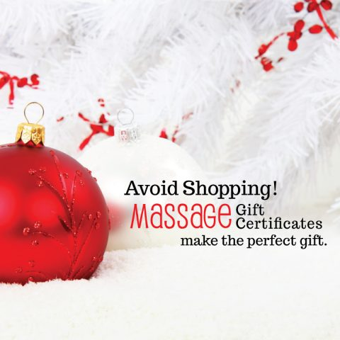 Why a massage, facial or reflexology makes the very best gift