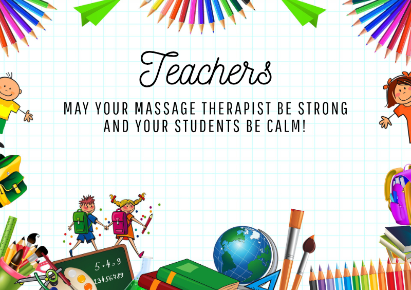Back to self-care for teachers